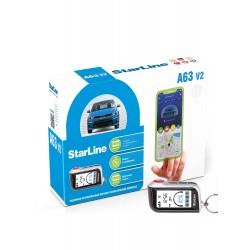 StarLine A63 Ver.2 с установкой