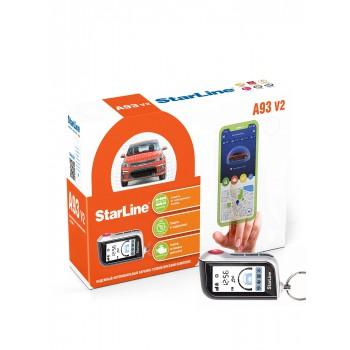 StarLine A93 Ver.2 с установкой