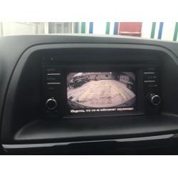 Камера Mazda CX5 2011-2015 с установкой