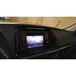 Камера Mazda 6 2012-2015 с установкой