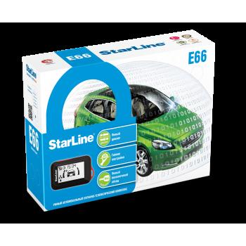 StarLine E66 BT ECO с установкой