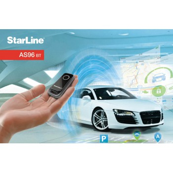 Starline AS96 BT 2SIM с установкой