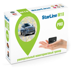 Starline M18 Глонасс + GPS с установкой